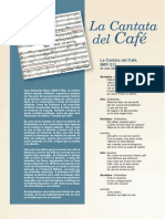 Cantata Del Café BACH ESPAÑOL