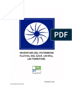 Dossier Premsa projecte d'Inventari patrimoni fluvial del Gaià.