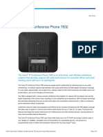 Cisco IP Conference Phone 7832 Data Sheet