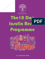 10 Day Insulin Reset Programme, The - Geeta Sidhu-Robb