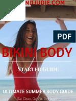 Bikini body YOUANDJUDIE starter guide