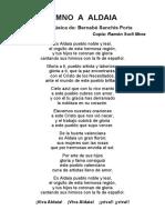 Sanchis, B. (Himno a Aldaia) (Arrastrado)