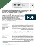 Recomendaciones para una prescripción segura de antiinflamatorios no esteroideos documento de consenso elaborado por expertos nominados por 3 sociedades científicas.pdf