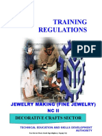 TR - Jewelry Making (Fine Jewelry) NC II