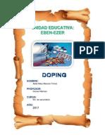 Monografia de Doping