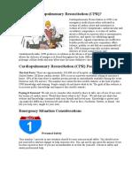 What is Cardiopulmonary Resuscitation