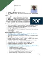 CV Coordinateur Programmes HF - Mali M. Sow