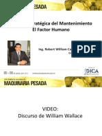 08. Gestión Estratégica del Mantenimiento aplicada a Maquinaria Pesada - Ing. Robert William Castillo Alva.pdf