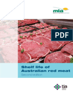 Shelf Life of Australian Red Meat 2nd Edition
