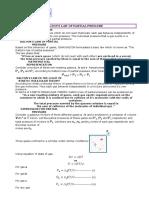 Partial Pressure -Dalton's Law of Partial Pressure