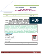 DRUG INDUCED DYSELECTROLYTEMIA –A CASE REPORT