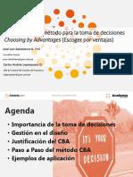 Choice by Advantages (Escoger Por Ventajes)