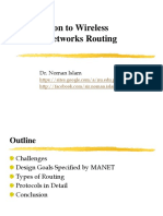 Routing Ad Hoc Network