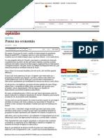 Editorial_ Pausa Na Economia - 06-12-2015 - Opinião - Folha de S