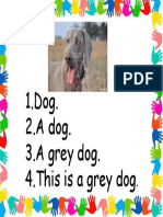Dog Sentences