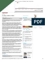 Editorial_ O Vício Contra o Vício - 03-12-2015 - Opinião - Folha de S