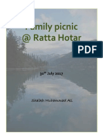 Family Picnic @ Ratta Hotar