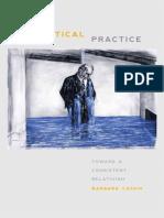 Cassin, Barbara-Sophistical Practice _ Toward a Consistent Relativism