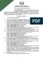 Edital de Aberturanº 001-2017 - Policia Civil