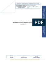 Procedimiento Control Documentos y Registros
