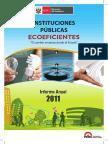Informe Anual Ecoeficiencia Instituciones Publicas 2011 MINAM