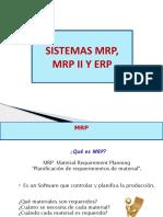 Sistemas MRP1,2 y ERP