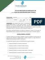 Contrato de Prestação - Projeto de Incêndio (1)