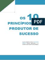 LIVRO Os 10 Principios Do Produtor de Sucesso