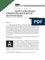 MISKOLCI, Richard. a Teoria Queer e a Sociologia_ o Desafio de Uma Nalítica Da Normalização