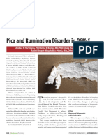 Rumination Disorder on DSM V