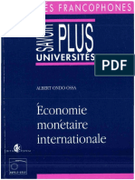 180279125 Economie Monetaire Internationale 2843710278 Content PDF