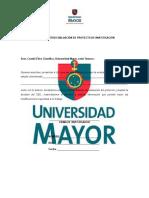 Carta Solicitud Evaluación de Proyectos