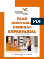 Libro Plan Contable General Empresarial 2015