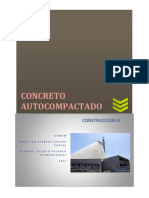 CONCRETO AUTOCOMPACTADO