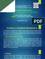 Acidosis y Alcalosis Metabolica - Del Aguila Soto, Oger