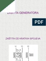 ZAŠTITA GENERATORA