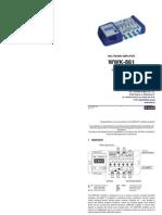 WWK-861 User Manual