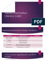 Media Information Literacy (Lab)