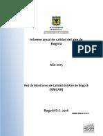 Informe Anual RMCAB 2015