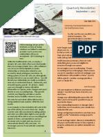 bw-m5a1-class newsletter