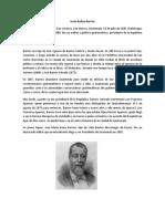 Justo Rufino Barrio Biografías