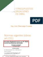 Valorizaciones - COSTOS Y PRESUPUESTO