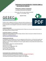 2° Circular - V Encuentro Latinoamericano de Educadores/as y Tesistas sobre Educación en cárceles