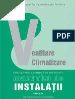 74774649 Enciclopedia Tehnica de Instalatii Manualul de Instalatii Editia AIIa Instalatii de Ventilare Si Climatizare