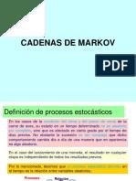 PRESENTACIÓN CADENAS DE MARKOV rev.ppt