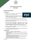 I-Arnis Ground Rules (International Tournament 2015)