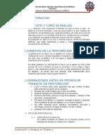 Perforacion y Voladura en Tuneles - 2017