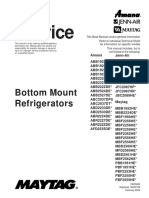 Bottom Mount Refrigerators Service