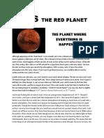 Mars Brochure