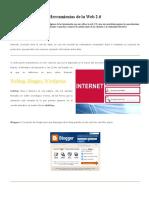 Recopilación de Herramientas de La Web 2